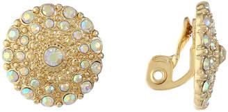 MONET JEWELRY Monet Jewelry White Clip On Earrings