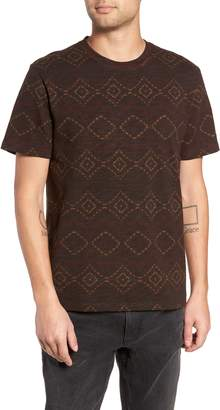 Treasure & Bond Regular Fit Print T-Shirt