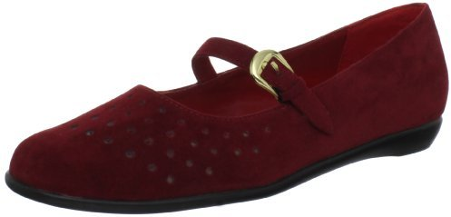 Annie Shoes Women's Marrie Mary Jane Flat