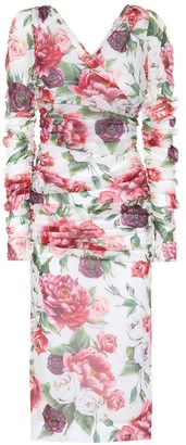 Dolce & Gabbana Stretch silk chiffon dress