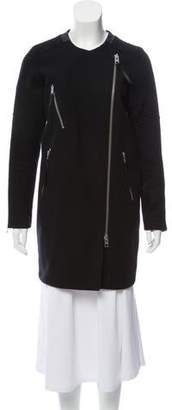 AllSaints Wool Zip-Up Jacket