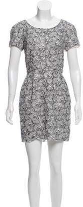 The Kooples Printed Mini Dress