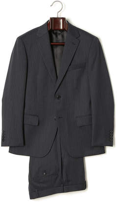 HIROKO KOSHINO homme collection ミルドストライプ スーツ ネイビー ab5