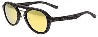 Earth Wood Cruz Wood Sunglasses Polarized Aviator