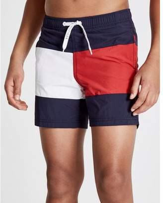 Tommy Hilfiger Large Flag Swim Shorts Junior