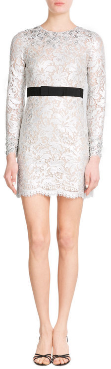 Emilio Pucci Emilio Pucci Embellished Lace Dress