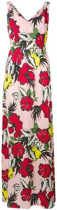 Liu Jo floral print long dress