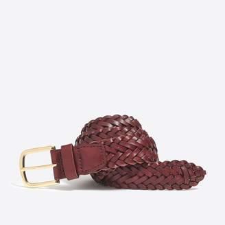 J.Crew Leather braided belt
