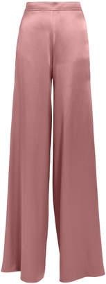 Intermix Cushnie High Waist Silk Mauve Pants