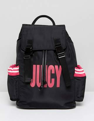 Juicy Couture Juicy By Nylon Logo Backpack