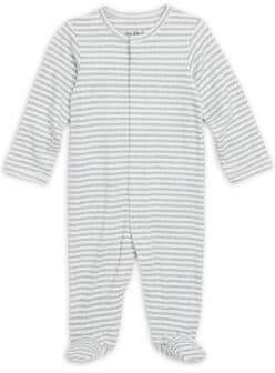 Saks Fifth Avenue Layette Baby's Striped Cotton Footie
