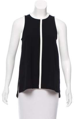 Madewell Two-Tone Sleeveless Top
