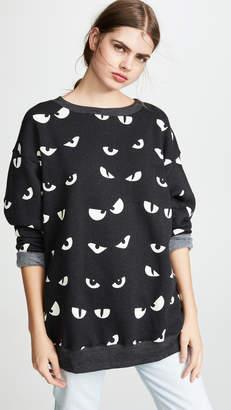 Wildfox Couture Evil Eyes Roadtrip Sweatshirt