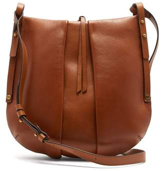 d80897a34f Isabel Marant Lecky Panelled Leather Cross Body Bag - Womens - Brown