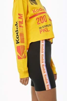 Forever 21 Kodak Logo Biker Shorts