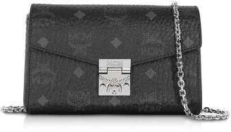 MCM Millie Visetos Small Crossbody Bag