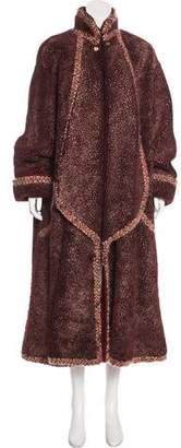 Chanel Paris-Salzburg Shearling Coat w/ Tags