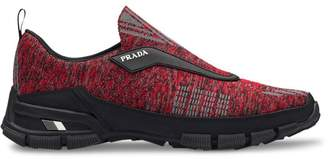 Prada Crossection knit sneakers