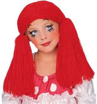 Rubie's Costume Co Costume Rag Doll Yarn Hair Wig,One Size