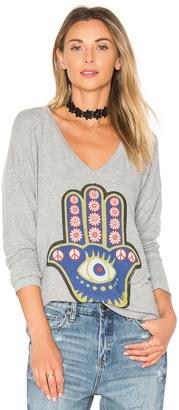 Lauren Moshi Nat Hamsa Eye Tee $136 thestylecure.com