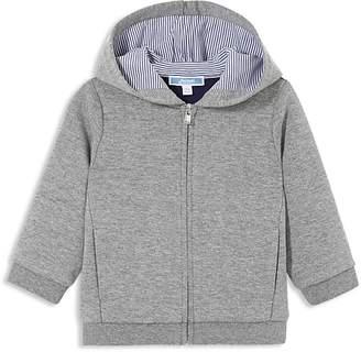 Jacadi Boys' Hooded Zip-Up Cardigan - Baby