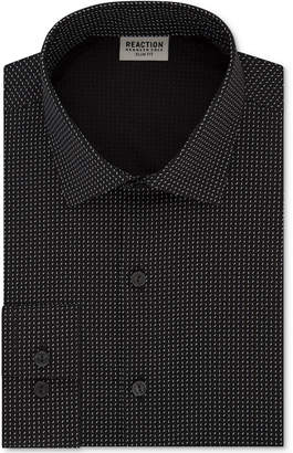 Kenneth Cole Reaction Men Techni-Cole Slim-Fit Flex Collar Three-Way Stretch Performance Dress Shirt