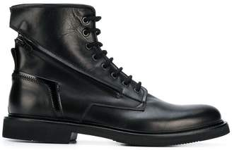 Bruno Bordese ankle lace-up boots