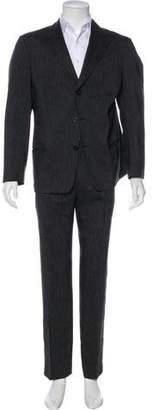 Armani Collezioni Striped Two-Piece Suit