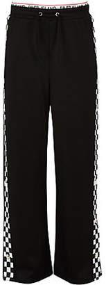 River Island Girls black mono popper side trousers