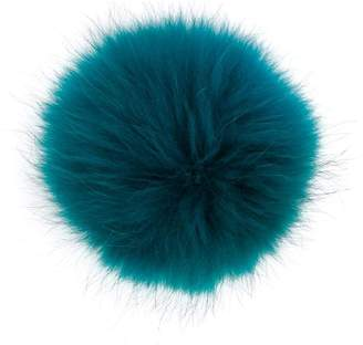 N.Peal detachable pom pom hat