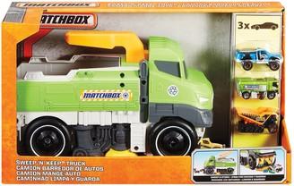 Mattel Matchbox Sweep 'N' Keep Truck