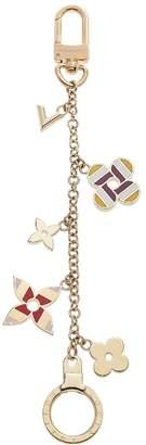 Louis Vuitton Multicolor Enamel Fleur De Monogram Bag Charm