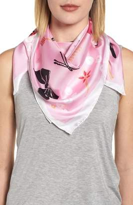 Kate Spade All Dressed Up Square Silk Scarf