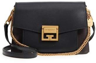 Givenchy Small GV3 Leather & Suede Crossbody Bag