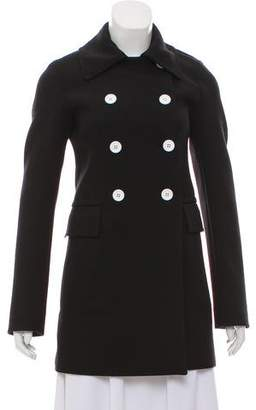 Celine Double-Breasted Wool Coat