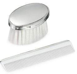 Empire Silver Sterling Silver Brush and Comb set