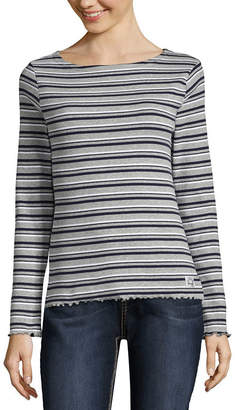 U.S. Polo Assn. Long Sleeve Sweatshirt-Juniors