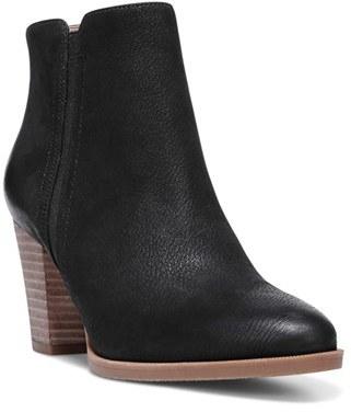Franco Sarto 'Dipali' Block Heel Bootie $118.95 thestylecure.com