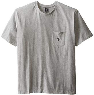 U.S. Polo Assn. Men's Big and Tall Crew Neck Pocket T-Shirt (Color Group 1 of 2)