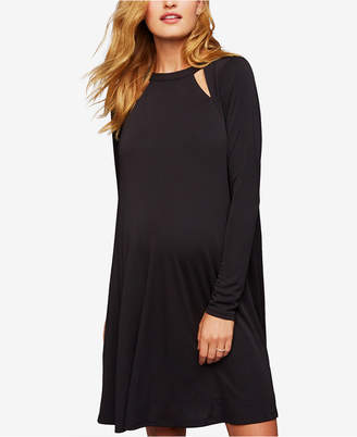 A Pea in the Pod Maternity Cutout A-Line Dress