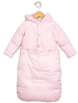 Ralph Lauren Girls' Down Snowsuit