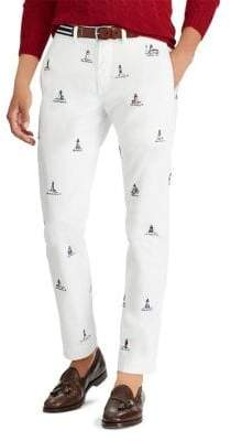 Polo Ralph Lauren Stretch Straight-Fit Pants