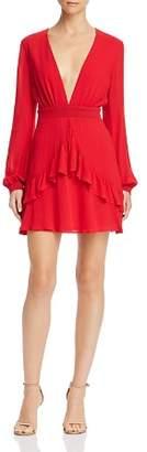 Sage the Label La Bamba Ruffled Polka Dot Dress