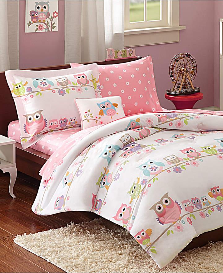 Mi Zone Kids Wise Wendy 8-Pc. Reversible Queen Comforter Set Bedding