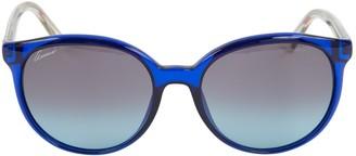 Gucci Blue Plastic Sunglasses