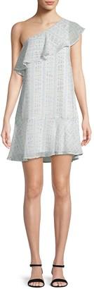 BCBGeneration One-Shoulder Mini Dress