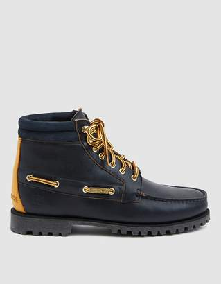 Timberland Aimé Leon Dore 7-Eye Lug Sole Boot in Navy