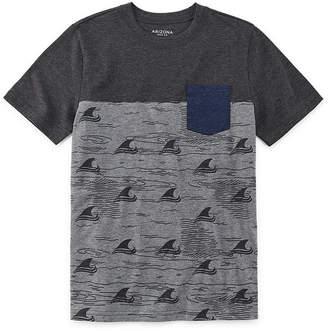 Arizona Boys Round Neck Short Sleeve T-Shirt Preschool / Big Kid