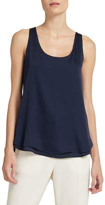 Donna Karan Women's Sleeveless Hi-Lo Top