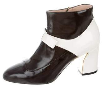 Gucci Nimue Mary Jane Ankle Boot